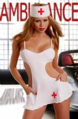 'Passion Lingerie'  Nurse the Screens Please ? Fancy Dress Outfit ( UK 18 - 20 )
